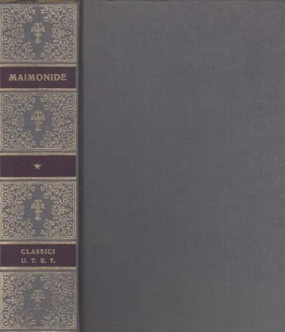 La guida dei perplessi - Maimonide Mose