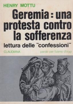 """Geremia: una protesta contro la sofferenza letture delle """"confessioni"""""""
