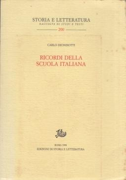 Ricordi della scuola italiana