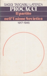 Il partito nell'Unione Sovietica 1917-1945