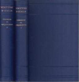 Commedie del cinquecento. Volume Primo, Volume Secondo