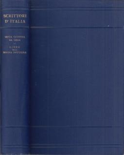 Libro della divina dottrina volgarmente detto dialogo della divina provvidenza. Nuova edizione secondo un inedito codice senese