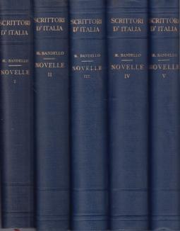 Le novelle.Vol. I - Vol. II - Vol. III - Vol. IV - Vol. V