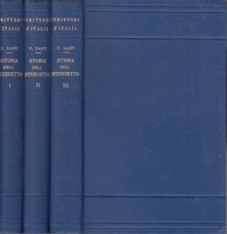 Istoria dell'interdetto e altri scritti editi e inediti. Volume Primo, Volume secondo, Volume Terzo