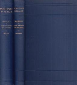 Epistolario Seguito da lettere di altri scrittori del seicento Volume Primo, Volume Secondo