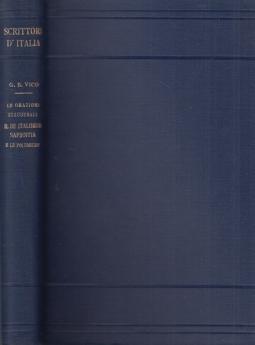 Le orazioni inaugurali Il de Italorum Sapienta e le polemiche