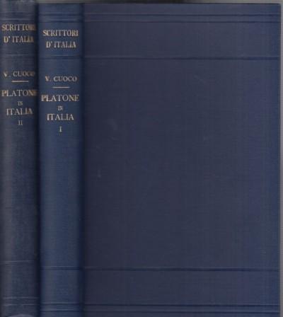 Platone in italia - Cuoco Vincenzo