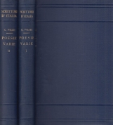 Poesie Varie. Volume Primo, Volume secondo