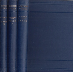 Prose. Volume primo, Volume secondo, Volume terzo