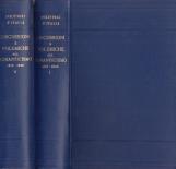 Discussioni e polemiche sul romanticismo 1816-1826