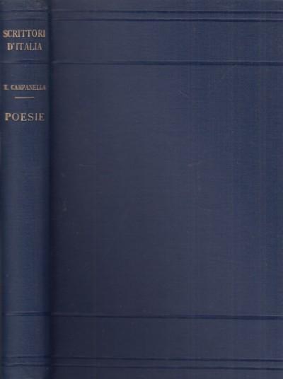 Poesie. a cura di giovanni gentile - Campanella Tommaso