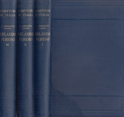 Orlando Furioso. Volume primo, volume secondo, volume terzo