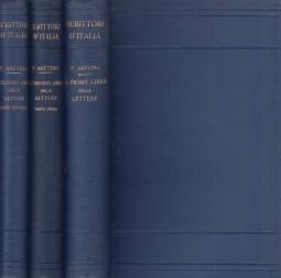 Il primo libro delle lettere. Il secondo libro delle lettere parte prima, parte seconda