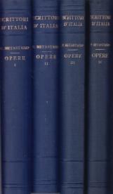 Opere. Volume primo, volume secondo, volume terzo, volume quarto