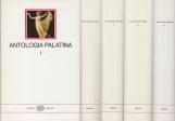 Antologia Palatina Volumi 1 - 2 - 3 - 4