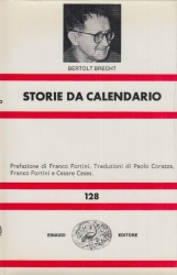 Storie da calendario. Prefazione di Franco Fortini. Traduzioni di Paolo Corazza, Franco Fortini e Cesare Cases