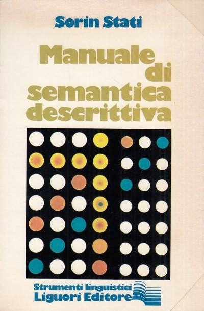 Manuale di semantica descrittiva - Stati Sorin