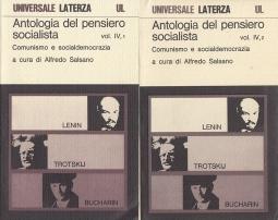 Antologia del pensiero socialista. Comunismo e socialdemocrazia Vol. IV 1/ IV 2
