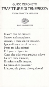 Trafitture di tenerezza. Poesia tradotta 1963-2008