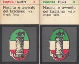 Nascita e avvento del fascismo volume primo e volume secondo