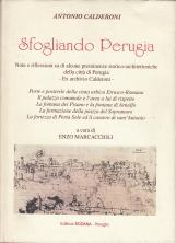 Sfogliando Perugia. Note e riflessioni su di alcune preminenze storico-architettoniche della citt? di Perugia. Ex Archivio Calderoni