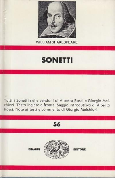 Sonetti - Shakespeare William
