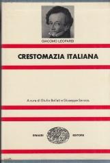 Crestomazia Italiana. La poesia - La Prosa