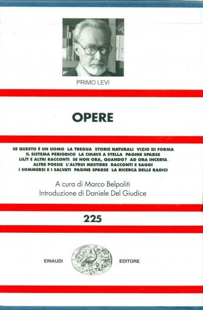 Opere - Levi Primo
