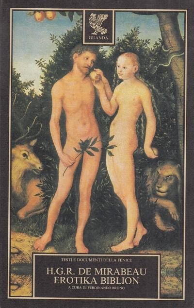 Erotika biblion - H.g.r. De Mirabeau