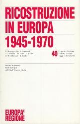 Ricostruzione in Europa 1945-1970