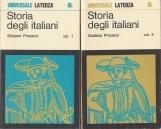 Storia degli italiani Volume Primo Volume Secondo