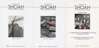 Storia della shoah lo sterminio degli ebrei primo volume, secondo volume, i documenti filmati - Cattarzza Marina - Flores Marcello - Levis Sullam Simon - Traverso Enzo (a Cura Di)