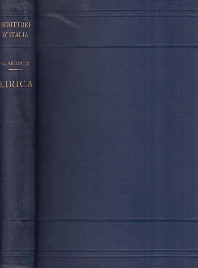 Lirica - Ariosto Ludovico