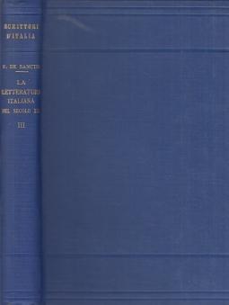 La letteratura italiana nel secolo XX. Volume terzo: Giacomo Leopardi
