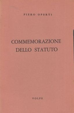 Commemorazione dello statuto