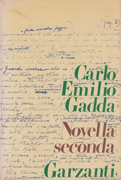 Novella seconda - Gadda Carlo Emilio