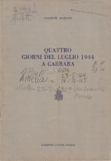 Quattro giorni del Luglio 1944 a Carrara