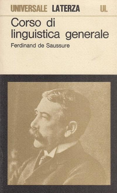 Corso di linguistica generale - Ferdinand De Saussure