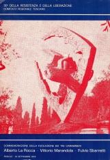 Commemorazione della fucilazione dei tre carabinieri. Alberto La Rocca - Vittorio Marandola - Fulvio Sbarretti. 30? della resistenza e della liberazione