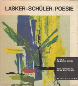 Lasker Schuler: Poesie
