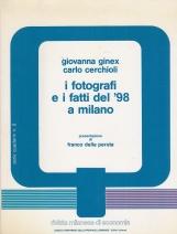 I fotografi e i fatti del '98 a Milano