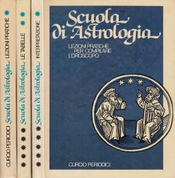 Scuola di Astrologia Lezioni Pratiche per compilare l'oroscopo, Interpretazione approfondita dell'oroscopo, Effemeridi e tabelle per l'oroscopo