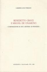 Benedetto Croce e Miguel de Unamuno omparazione di due sistemi di pensiero.