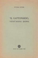 Il Gattopardo vent'anni dopo. Conversazione tenuta il 6 Dicembre 1977 nella Sala Basile di Villa Igiea