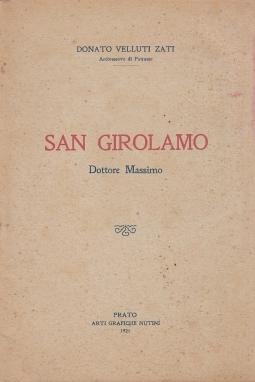 San Girolamo. Dottore Massimo