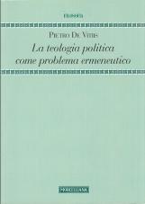 La teologia politica come problema ermeneutico