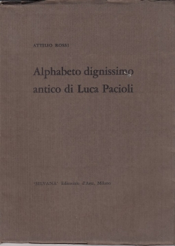 Alphabeto dignissimo antico di Luca Pacioli