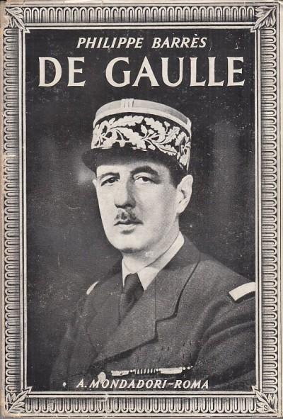 De gaulle - Barres Philippe