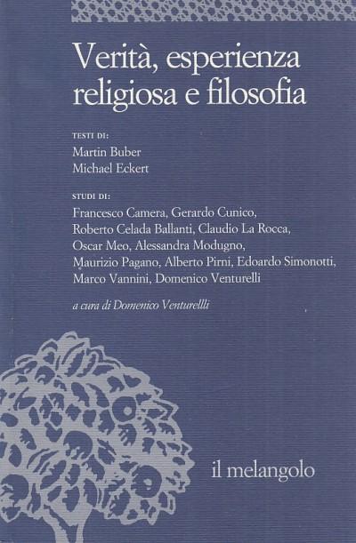 Verit?, esperienza religiosa e filosofia - Venturelli Domenico (a Cura Di)