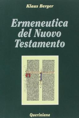 Ermeneutica del Nuovo Testamento